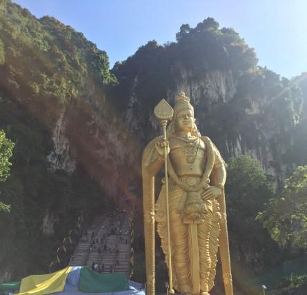 Lord Murugan Statue In Batu Caves