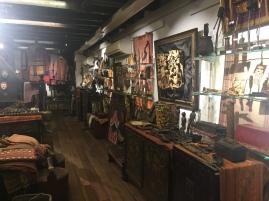 Inside Art House Gallery of Ethnic Arts