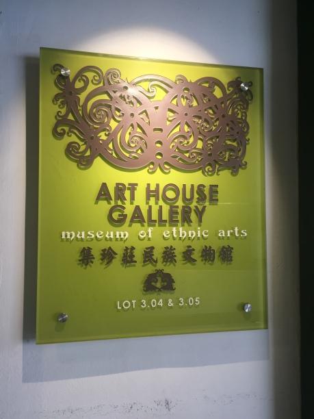 Art House Gallery of Ethnic Arts